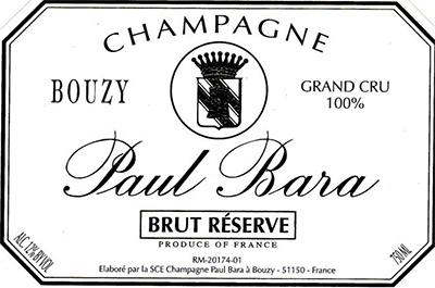 Champagne website Paul Bara